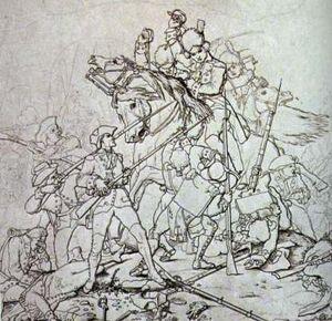 Waxhaw massacre sketch