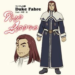 Anime Concept Duke