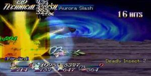 Aurora Slash (ToE)