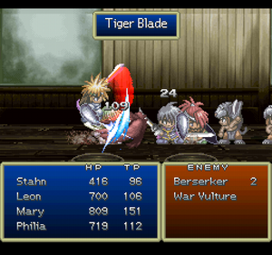 Tiger Blade (ToD PSX)