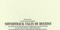 Soundtrack Tales of Destiny