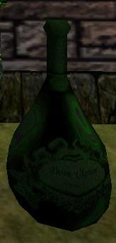 Bottle of Crystal Champagne Live