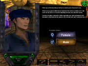 Pre-ToD Character Creation (Sex)