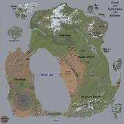 Map of Dereth