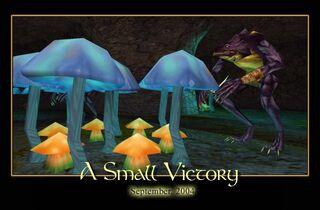 A Small Victory Splash Screen