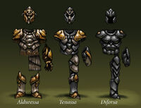 The Armor of the Viamontian Invaders