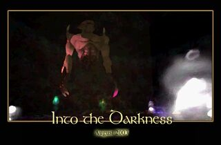 Into the Darkness Splash Screen
