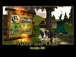 Ashes and Dust Splash Screen