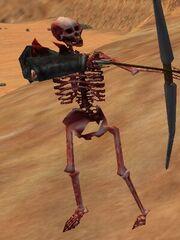 Dire Champion Skeleton Live