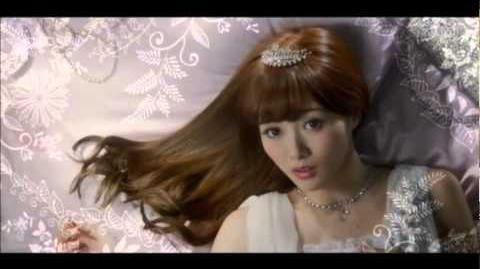 Mai Shiraishi (Nogizaka46) Hair Color Palty Ad