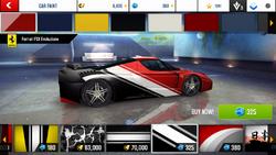 Ferrari FXX Evoluzione Decal 5