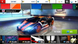 SSC Ultimate Aero XT Decal 14