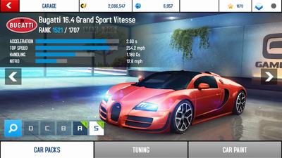 bugatti veyron 16 4 grand sport vitesse asphalt wiki fandom powered by wikia. Black Bedroom Furniture Sets. Home Design Ideas