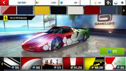 Ferrari FXX Evoluzione Decal 10