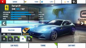 A8A Ferrari FF stock