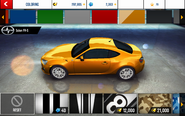 FR-S Yellow