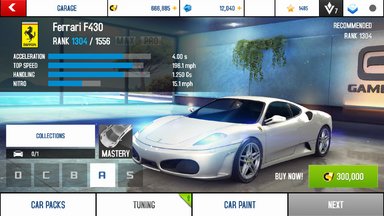 Ferrari F430 stock + price