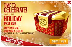 Box ad Christmas