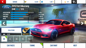 2015 Ford Mustang stock