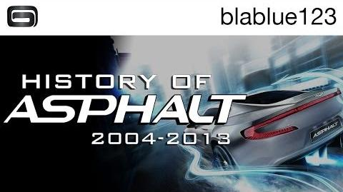 History of - Asphalt (2004-2013) blablue123