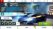 Peugeot Onyx base stats