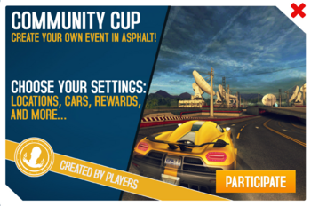 Community Cup ad