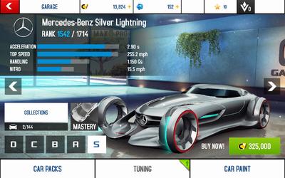 silver lightning stats s