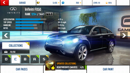 Infiniti FX50 maxed out