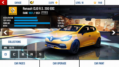 Renault CLIO R.S. 200 EDC maxed out