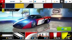 Ferrari FXX Evoluzione Decal 6