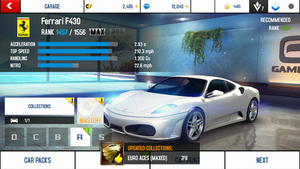A8A Ferrari F430 MAX