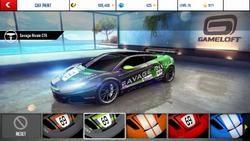 Savage Rivale GTR Decal 2