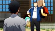 Takaoka's First scene Anime