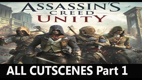 "Assassin's Creed Unity all cutscenes HD Movie ""Part 1""-0"