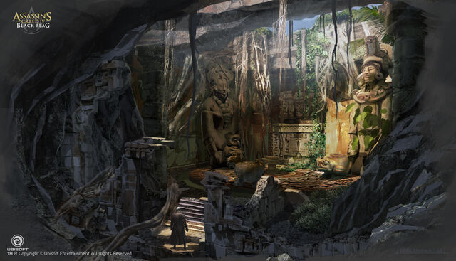 File:Assassin's Creed IV Black Flag Aveline Mission Concept Art by EddieBennun.jpg