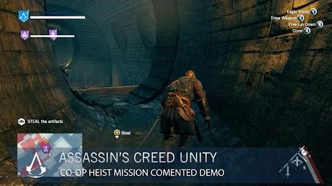 Assassin's Creed Unity Co-op Heist Mission Commented Demo US