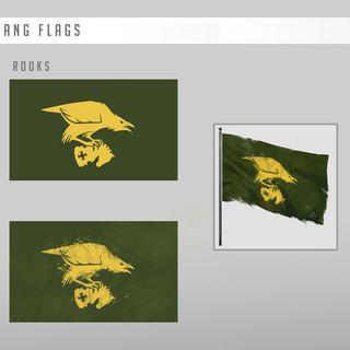 乌鸦会旗概念图