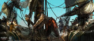 Assassin's Creed IV Black Flag - Concept art 4 by kobempire