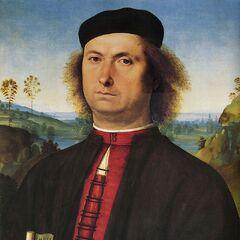 <b>佛朗切斯科•德尔•奥佩雷的肖像</b><br />(Francesco delle Opere) <br />皮埃特罗·佩鲁吉诺