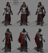 Laurent Sauvage armor model - Assassin's Creed Brotherhood