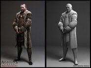 Francesco Troche character model by Senecal