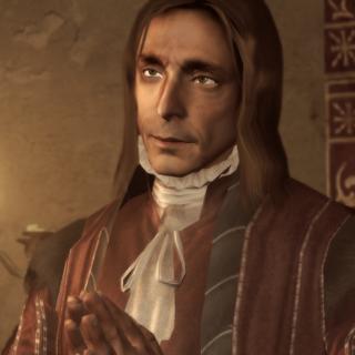 Giovanni waarschuwt Ezio.