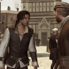 Ezio confronteert Duccio.