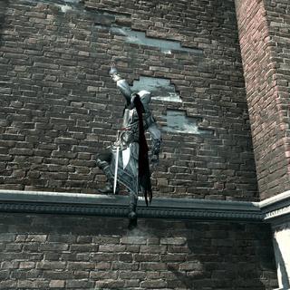 艾齐奥·奥迪托雷攀越上圣玛利亚.德.菲拉纳教堂。
