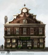 ACRG Fighting Cocks Tavern Exterior - Concept Art
