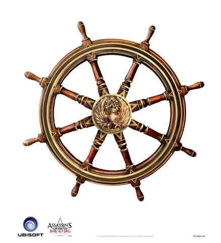 File:Assassin's Creed IV Black Flag -Ship-Jackdaw - Iconic Wheel 1 by max qin.jpg