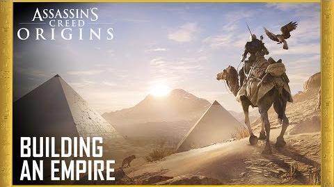 Assassin's Creed Origins E3 2017 Building an Empire UbiBlog Ubisoft US