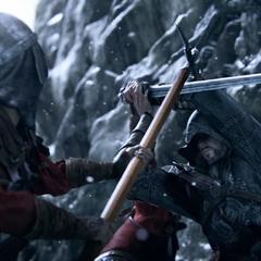 Ezio vecht tegen de Byzantijnen