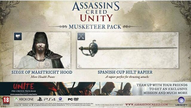 File:Assassin's Creed Unity Musketeer Pack.jpg