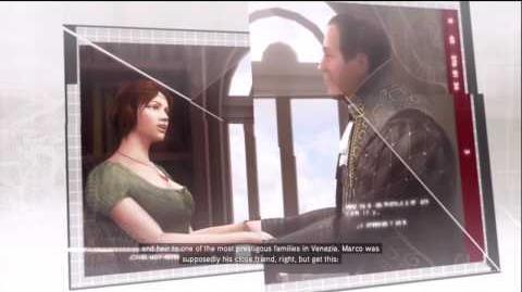 Assassin's Creed II Database Entry - Marco Barbarigo and Dante